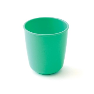 Melamine 3-compartment plate Green PETITS POIS